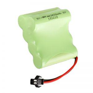 NiMH аккумулятор AA2400 6V Перезаряжаемые инструменты для электрических игрушек Аккумулятор