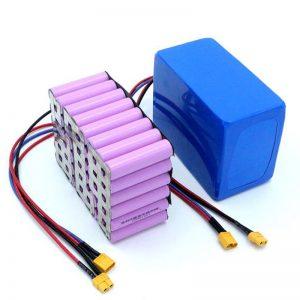 Заводская цена 18650 аккумуляторная батарея высокой мощности 12 В литий-ионная аккумуляторная батарея для продажи