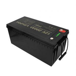 Аккумуляторные батареи нового дизайна Необслуживаемые литий-ионные батареи LiFePO4 12V 200Ah