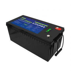 Глубокий цикл 12V / 24V / 36V / 48V 200Ah Солнечные аккумуляторы UPS 12v LiFePO4 литиевые аккумуляторы для тележки для гольфа