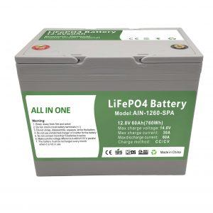 Фабрика продает пластиковую домашнюю батарею 12.8V60Ah 2000 циклов lifepo4 battery 12v для домашней энергии