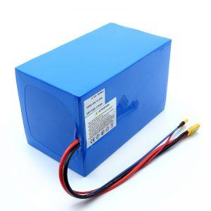 Литиевая батарея 18650 48V 51.2AH 24v 30V 60V 15ah 20Ah 50Ah Литий-ионные батареи 18650 48V Литий-ионный аккумулятор для электрического скутера