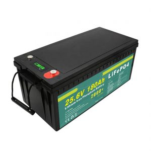 Перезаряжаемый аккумулятор 24v180ah (LiFePO4) для солнечного уличного фонаря