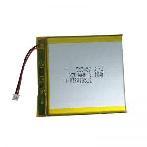 Полимерные литиевые батареи 3,7 В 2200 мАч для устройств умного дома
