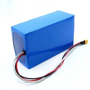 Литиевая аккумуляторная батарея 36V 10Ah Li -on 18650 для электрического скейтборда