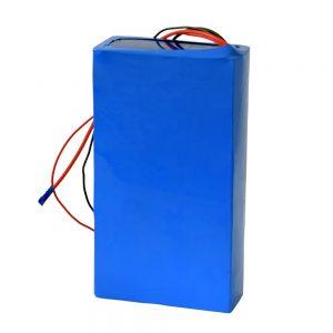 Перезаряжаемый литиевый аккумулятор 60 в 12ач для электросамоката