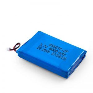 Литий-полимерный аккумулятор 3,7 в / 7,4 в 3000 мАч, 3,7 в с 3000 мАч