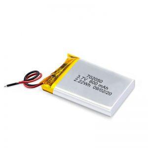 Китай оптовая продажа 3,7 В 600 мАч 650 мАч Мини-литий-полимерная литиевая аккумуляторная батарея для игрушечных автомобилей