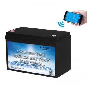 Низкотемпературный аккумулятор LiFePO4 12V 100AH