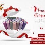 Поздравления с Рождеством Христовым от компании ALL IN ONE Battery Technology Co Ltd