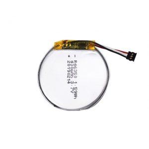 LiPO индивидуальный аккумулятор 46350 3,7 в 350 мАч аккумулятор для смарт-часов 46350 маленький плоский круглый литий-полимерный аккумулятор для игрушек
